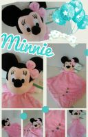 MINNIE DISNEY BABY DOUDOU MINNIE ROSE 24,00 €