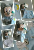 MICKEY DISNEY doudou mickey 1,2,3,moutons